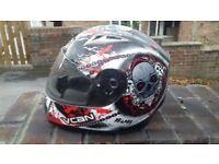 Reaper motorbike helmet