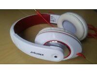 New headphones hardly used