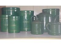 Green kitchen storage