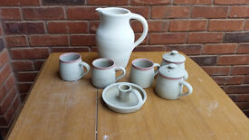 Pottery Ceramics for glazing Loads of hand thrown pottery pieces ready for glazing kiln fired