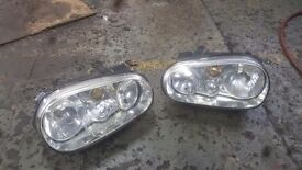 Mk4 golf headlights (pair)