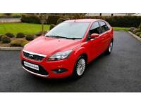 2008 FORD FOCUS 1.8 TDCI TITANIUM...ONLY 61000 MILES...FSH...FINANCE THIS CAR FROM £23 PER WEEK...