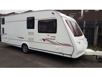 Totally Outstanding Condition Compass Connoisseur 6 Berth touring caravan