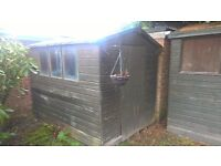 Shed - needs dismantling and collecting