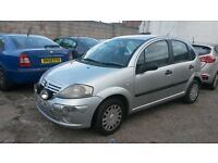 BREAKING CITROEN C3 DESIRE HDI 53k 5 DOOR 2004 04 1.4 HDI DIESEL SILVER MANUAL