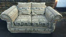 Sofas 2 and 3 seats in good used condition