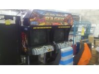 SEGA Star Wars Racer Arcade machine