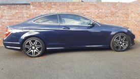 STUNNING EXAMPLE, MERCEDES-BENZ C CLASS COUPE