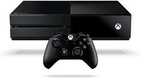 Xbox one plus a few games