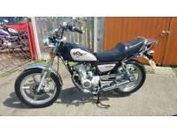 Huonaio HN 125-8 Motorcyle
