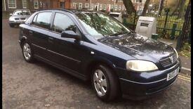 Vauxhall astra (02reg)