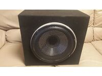 CAR SUBWOOFER FLI FREQUENCY 1200 WATT 12 INCH SPEAKER 400 RMS WITH ENCLOSURE BASS BOX SUB WOOFER