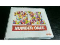 101 NUMBER ONES. 5 CDS BOX SET...
