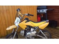 110cc off road kids bike, very useable needs tlc, 4 gear ideal first bike