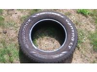 Hankook Vantra Tyre 235 65 16