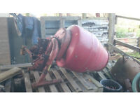 Tractor 3 Point Linkage Mounted Concrete Mixer