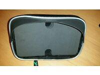 "NEW 6"" large GPS smart phone case holder sun visor no handle bar mount"