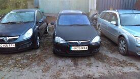 Vauxhall Corsa 2005 SRI Black 12 Mts MOT