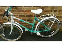 PEUGEOT TAHITY LADIES BIKE...NEEDS TLC EASY PROJECT £20