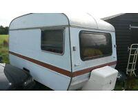 caravan 1970's 2 berth