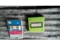 Ipod shuffle white 512mb + speakers