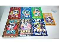 7 'Spy Dog' paperback books by Andrew Cope