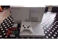 XBOX ONE S (White) 2TB Console Bundle - Rare only available during pre-launch