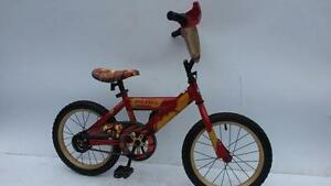 5 to 8 year old BOY 's Bike 20  INCH tires SUPER CYCLE  IRON MAN or HOT WHEELS +TRAINING WHEELS