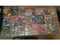 2000ad & judge dredd annuals 1978 > 1989 + The Judge Dredd collection 1,2&3 from the daily star