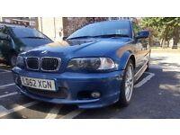 BMW 330CI M-SPORT 2002! URGENT SALE!