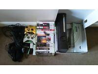 Xbox 360 Elite, 120gb plus 22 games