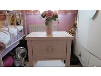 NEXT Kids Bedside Table with PINK drawers - ideal for Girls room !!!