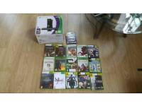 Xbox 360 250gb,games,and kinect