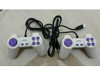 Two USB PC Joypads/Joysticks for Gaming etc in Good Condition