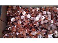 Copper Disc Rivets 19mm Copper Roofing Rivets - Copper Slate Tile Rivet