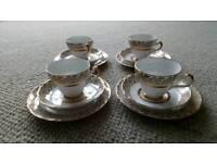 18 carat gold tea set