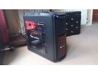EXCELLENT 1440P PC Specialist 6 Core Gaming PC,Fx 6300,8GB RAM, GTX 960 2GB LIKE NEW £450 NO OFFERS