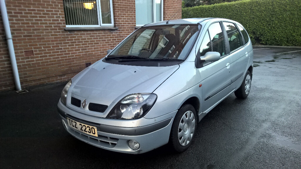 renault scenic 1 9 dci 2003 mk1 silver full mot in bangor county down gumtree. Black Bedroom Furniture Sets. Home Design Ideas