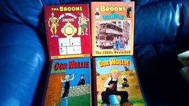 THE BROONS AND OOR WULLIE BOOKS - VERY GOOD CONDITION