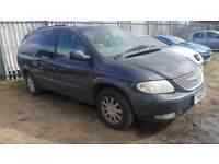 Chrysler Grand Voyager crd LX 2.5 diesel with mot