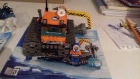 Lego City Arctic basecamp