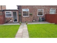 SEMI DETACHED 3 BEDROOMED HOUSE WITH LARGE GARDEN, GARAGE AND LARGE PATIO AREA