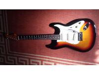SX custom handmade VTG series strat electric guitar + USB interface,DVDs,strap etc