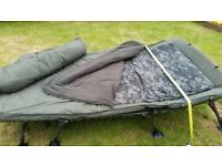 Fishing bed chair system