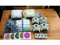 Semi working Dreamcast x2 plus extras