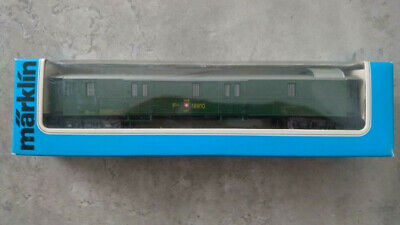 MÄRKLIN H0 4146 D-Zug Gepäckwagen SBB 18810 OVP (#547)