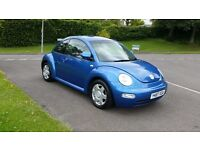 2001 Volkswagen Beetle 2.0 with low mileage for its age