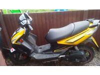 Moped (TGB R50X)
