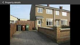 3 Bed House for Rent King Oswy Hartlepool