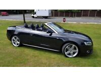 2011 AUDI A5 S-LINE CONVERTIBLE MAY PX SWAP